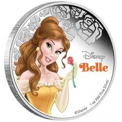 Niue 2 dollar 2015 Disney - Belle en het Beest: Prinses Belle - 1 Oz. zilver