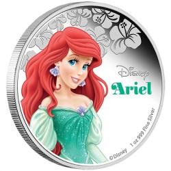 Niue 2 dollar 2015 Disney - De Kleine Zeemeermin: Prinses Ariel - 1 Oz. zilver