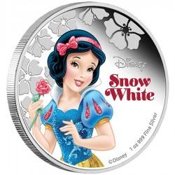 Niue 2 dollar 2015 Disney - Prinses Sneeuwwitje - 1 Oz. zilver