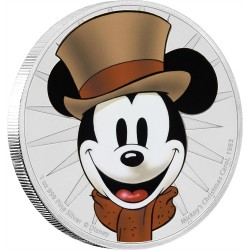 Niue 2 dollar 2017 Disney - Mickey Through the Ages 8 - Mickey's Christmas Carol - 1 Oz. silver