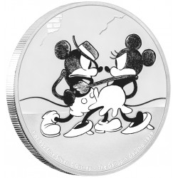 Niue 2 dollar 2017 Disney - Mickey Through the Ages 5 - The Gallopin' Gaucho - 1 Oz. zilver