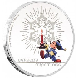 Niue 2 dollar 2016 Disney - Season's Greetings Classic - 1 Oz. zilver