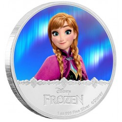 Niue 2 dollar 2016 Disney - Frozen - Princess Anna - 1 Oz. zilver