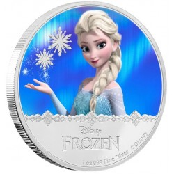 Niue 2 dollar 2016 Disney - Frozen - Princess Elsa - 1 Oz. zilver