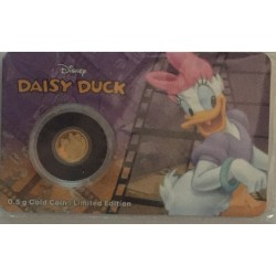 Niue 2,50 dollar 2016 Disney - Mickey & Friends - Katrien Duck - 0,5 gram goud in coincard
