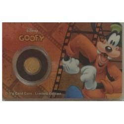 Niue 2,50 dollar 2016 Disney - Mickey & Friends - Goofy - 0,5 gram goud in coincard
