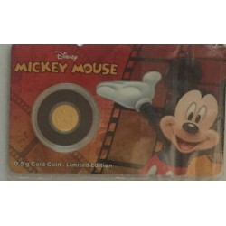 Niue 2,50 dollar 2016 Disney - Mickey & Friends - Mickey Mouse - 0,5 gram goud in coincard