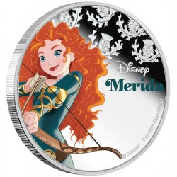 Niue 2 dollar 2016 Disney - Brave - Prinses Merida - 1 Oz. zilver