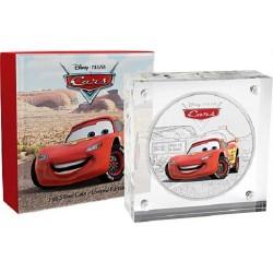 Niue 2 dollar 2017 Disney Pixar - Cars - 1) Lightning McQueen - 1 Oz. zilver