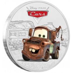 Niue 2 dollar 2017 Disney Pixar - Cars - 3) Tow Mater - 1 Oz. zilver