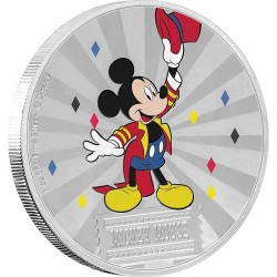 Niue 2 dollars 2019 Disney - Mickey Mouse & Friends Carnival 1 - Mickey Mouse - 1oz silver coin