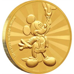 Niue 25 dollars 2019 Disney - Mickey Mouse & Friends Carnival 1 - Mickey Mouse - 1/4oz gold coin