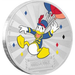 Niue 2 dollars 2019 Disney - Mickey Mouse & Friends Carnival 3 - Donald Duck - 1oz silver coin