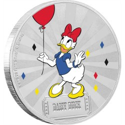 Niue 2 dollars 2019 Disney - Mickey Mouse & Friends Carnival 4 - Daisy Duck - 1oz silver coin