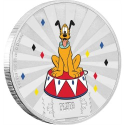 Niue 2 dollars 2019 Disney - Mickey Mouse & Friends Carnival 5 - Pluto - 1oz silver coin