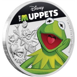Niue 2 dollars 2019 Disney - The Muppets - Kermit the Frog - 1oz silver coin