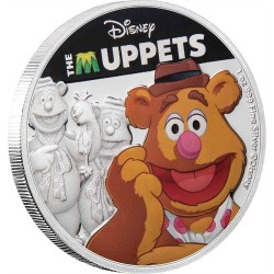 Niue 2 dollars 2019 Disney - The Muppets - Fozzie Bear - 1oz silver coin