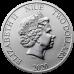 2020 Disney Bullion 12) MICKEY CHRISTMAS 2020 - Niue 2 dollars 1 oz silver coin