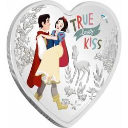 2020 Disney Love Coins TRUE LOVERS KISS - Niue 2 dollars 1 oz silver coin