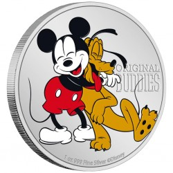 2020 Disney PLUTO Original Buddies - Niue 2 dollars 1 oz silver coin