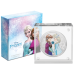 2020 Disney Princess with Gemstone 7) Frozen ANNA & ELSA - Niue 2 dollars 1oz silver coin