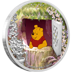 2020 Disney Classics WINNIE THE POOH - Niue 2 dollars 1oz silver coin