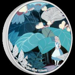 2021 Disney Classics Alice in Wonderland 1) Alice - Niue 2 dollars 1 oz silver coin