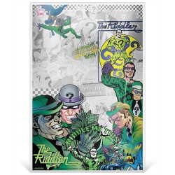Niue 1 dollar 2019 Silver Coin Note - DC Comics - Batman Villains - 2 The Riddler