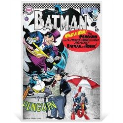 Niue 1 dollar 2019 Silver Coin Note - DC Comics - Batman Villains - 5 THE PENGUIN