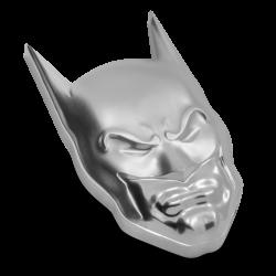 2021 DC Comics - Batman MASK™ - Niue 5 dollars 2 oz silver coin