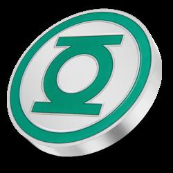 2021 Green Lantern Logo - DC Comics Logos 5™ - Niue 2 dollars 1 oz silver coin