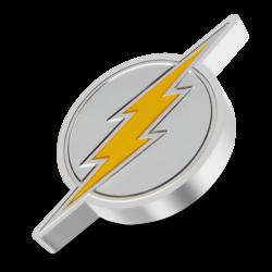 2021 The Flash Logo - DC Comics Logos 2™ - Niue 2 dollars 1 oz silver coin