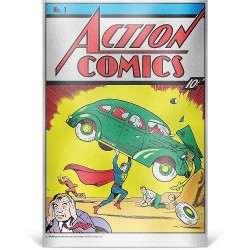 DC Comics - 35g Pure Silver Foil 1 - Action Comics #1