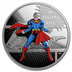 Canada 20 dollars 2016 DC Comics - Superman™ - 1oz silver coin