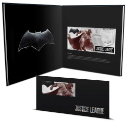 Niue 1 dollar 2018 DC Comics Coin Note - 1) Justice League - Batman™ - 5 gr silver foil with album