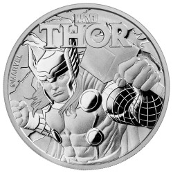 2018 Marvel bullion THOR - Tuvalu 1 dollar 1 oz silver coin