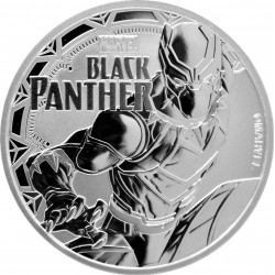 2018 Marvel bullion BLACK PANTHER - Tuvalu 1 dollar 1 oz silver coin