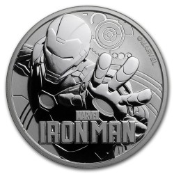 2018 Marvel bullion IRON MAN - Tuvalu 1 dollar 1 oz silver coin
