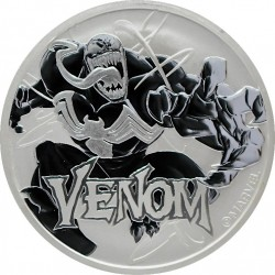 2020 Marvel bullion VENOM - Tuvalu 1 dollar 1 oz silver coin
