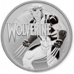 2021 Marvel bullion WOLVERINE - Tuvalu 1 dollar 1 oz silver coin