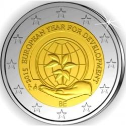 Belgie 2 euro 2015 'Europees jaar van de Ontwikkeling' UNC