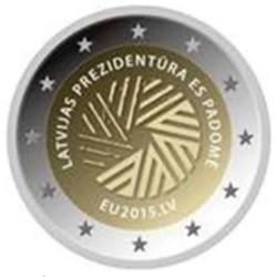 Letland 2 euro 2015 'Voorzitterschap EU' UNC