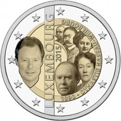 Luxemburg 2 euro 2015 'Dynastie' UNC