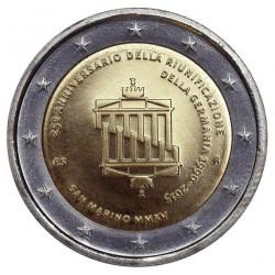 San Marino 2 euro 2015 '25 jaar Duitse Eenheid´ BU in blister
