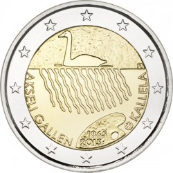 Finland 2 euro 2015 'Akseli Gallen Kallela' UNC