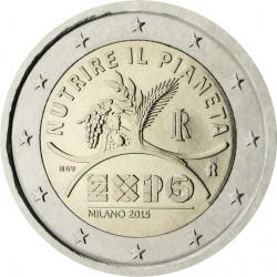 Italie 2 euro 2015 ´Wereld Expo 2015 - Mliaan' UNC