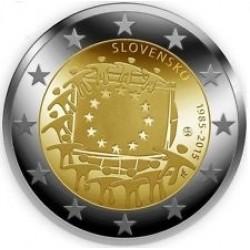Slowakije 2 euro 2015 'Europese Vlag' UNC