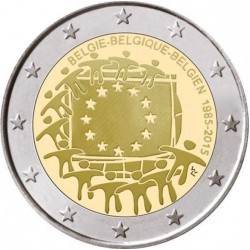 Belgie 2 euro 2015 'Europese Vlag' UNC