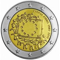 Cyprus 2 euro 2015 'Europese Vlag' UNC