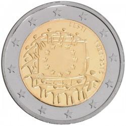 Estland 2 euro 2015 'Europese Vlag' UNC
